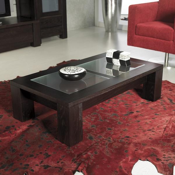 mesa de centro Almip Power chocolate