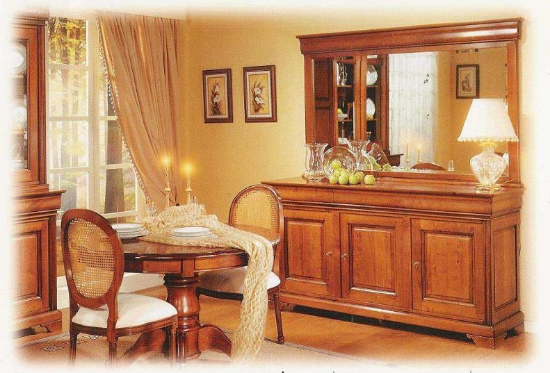 sala jantar aparador Luis Felipe