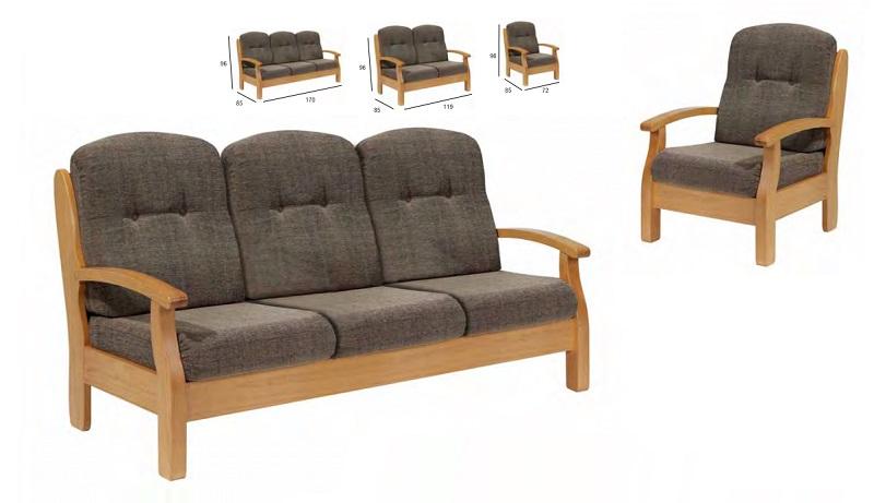 sofá Rustico Danves