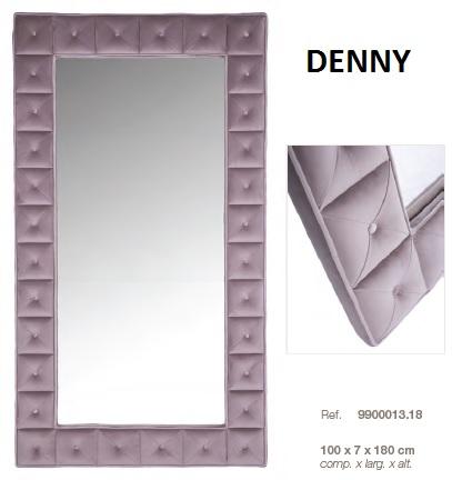 Espelho estofado DIC DENNY
