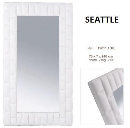 Espelho estofado DIC SEATTLE