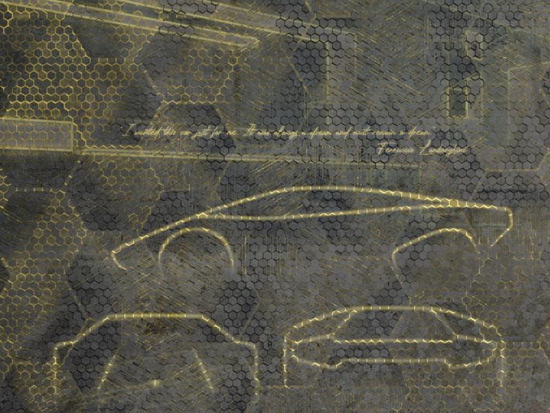 Papel de Parede Lamborghini ZZ 90057